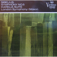 London Symphony Orchestra, Alexander Gibson - Sibelius Symphony No.5 in E flat, Opus 82 / Karelia Suite, Opus 11
