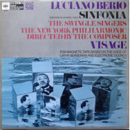 Luciano Berio / The New York Philharmonic - Sinfonia / Visage