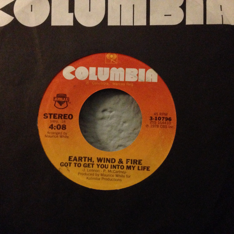 Earth, Wind & Fire - I'll write a song for you / Got to get you into my life